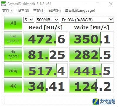 装机商首选SSD 速睿100GB固态性能实测