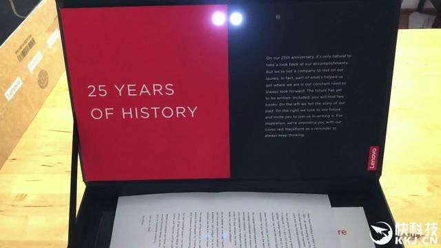 联想ThinkPad 25周年限量版开箱