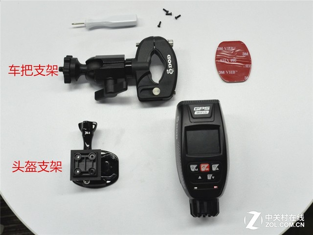 DOD车用摄像机与重机结合