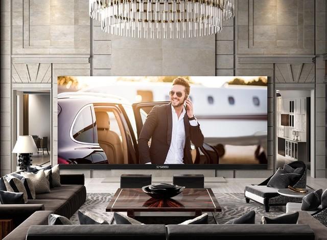 全球最大4K电视诞生!售价超过360万元