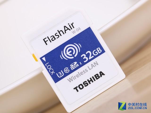 东芝FlashAir™ SDHC USHS-I存储卡评测