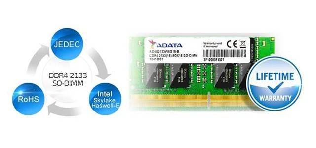 全新进化升级 威刚发布DDR4笔记本内存新品