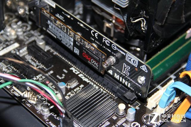 没M.2怎么办?实战老电脑换三星960PRO