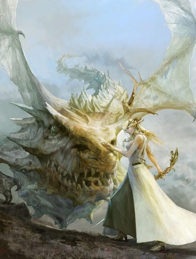 SE推出完全新作RPG 妹子与龙新幻想题材