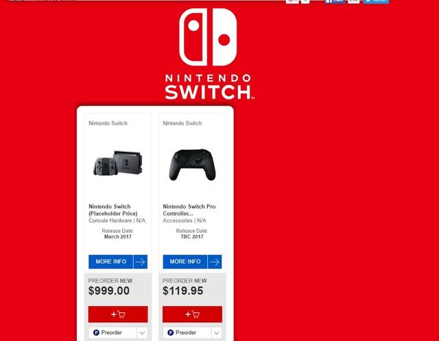 含上古卷轴5!任天堂Switch游戏阵容曝光