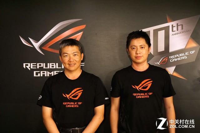 满足玩家需求 台北电脑展专访华硕许佑嘉