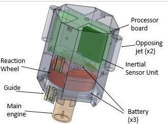 日本研发小型探测机器人 可自行弹射上天
