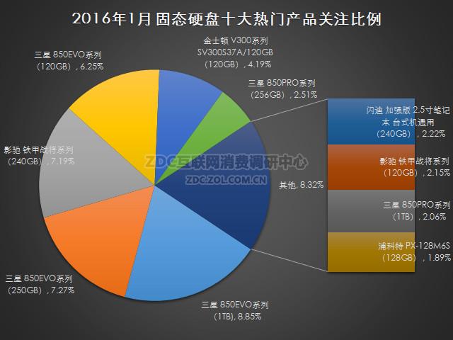 2016年1月中国固态硬盘市场研究报告