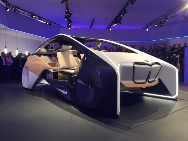 2017 CES:宝马i Inside Future首发