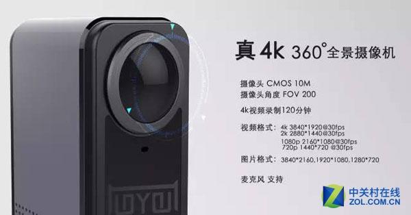 多核真4K VR全景摄像机猫镜CAT360