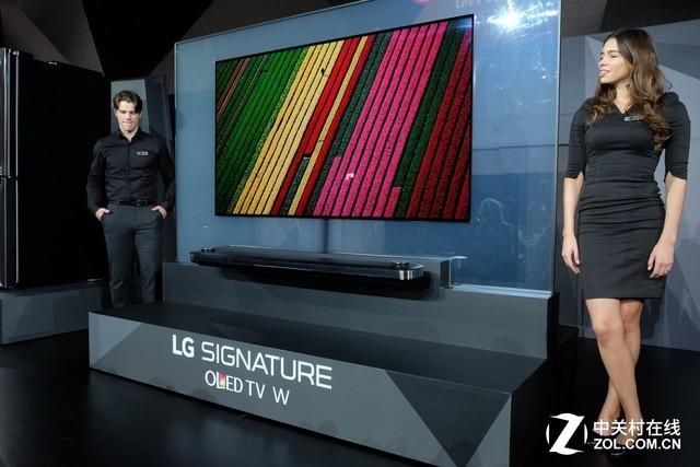 可贴在墙上的电视!LG CES带来重磅产品