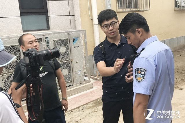 TCL警用装备部 探班《天下无诈》片场