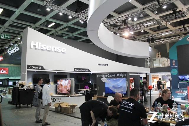 海信黑科技出战IFA 8K分体激光阵容庞大