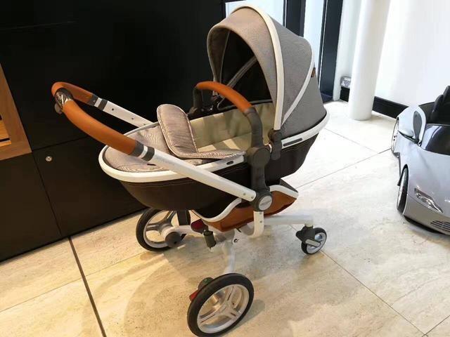 赢在起跑线 阿斯顿马丁ONE77同款婴儿车