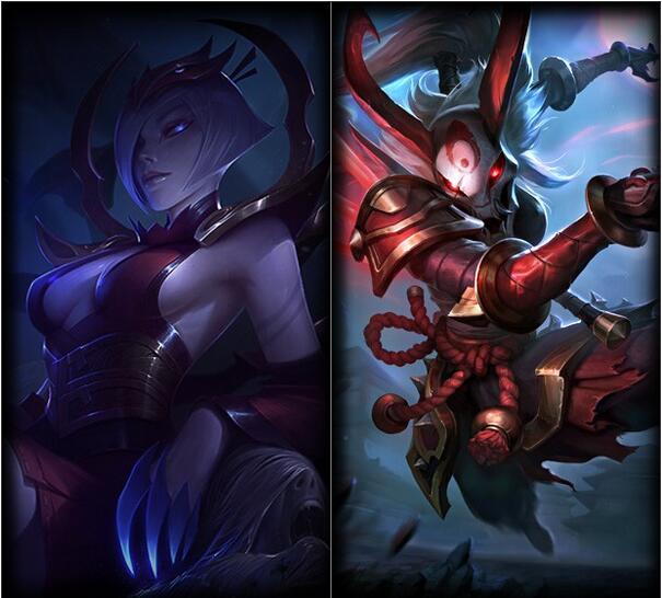 腥红之月 伊莉丝和卡莉丝塔(图片来源于网络)