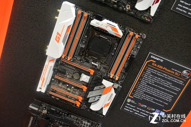 炫彩灯光更高规格 技嘉X99-Phoenix新品