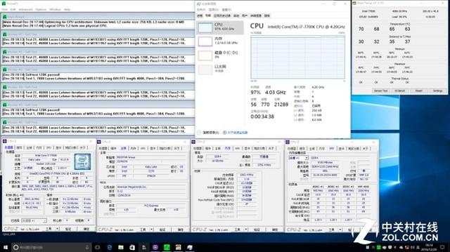 酷睿i7-7700K搭配映泰Z270GT6主板简测