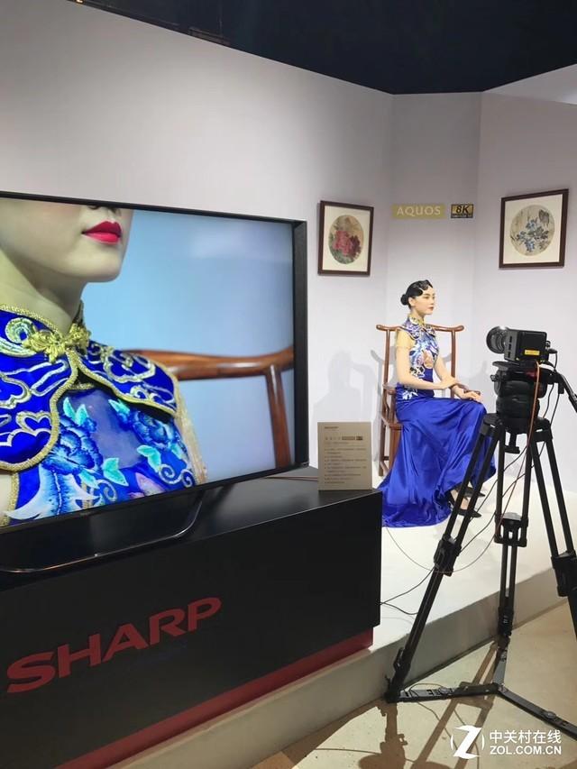 全球领先上市!夏普首款8K电视现场评测