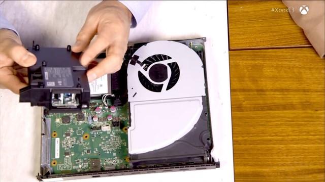 微软发大招!剖析自家Xbox One X 内部结构