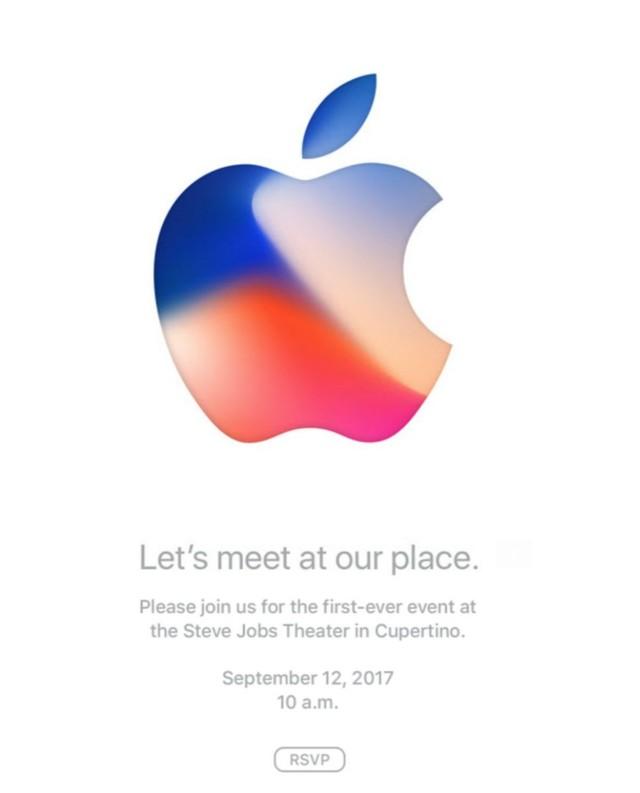 苹果正式发出邀请函:新品发布会定于9月12日