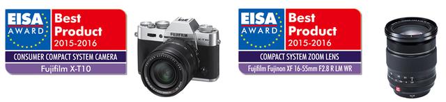 富士数码相机和富士龙变焦镜头荣获EISA大奖