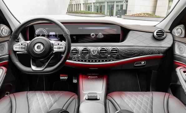 迷你的豪华车 smart迈巴赫版假想图曝光