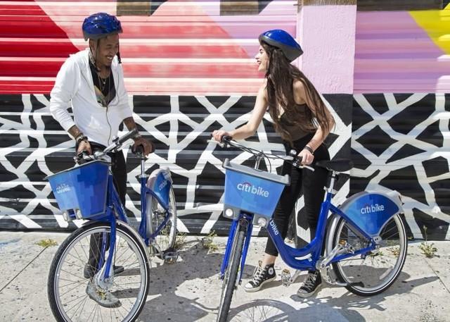 Citibank or Citibike?感受花旗共享单车