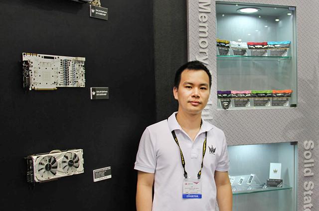 NVMe要成主流 影驰产品经理蔡伟平专访