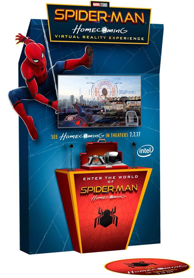 Intel携索尼打造VR版<蜘蛛侠:英雄归来>