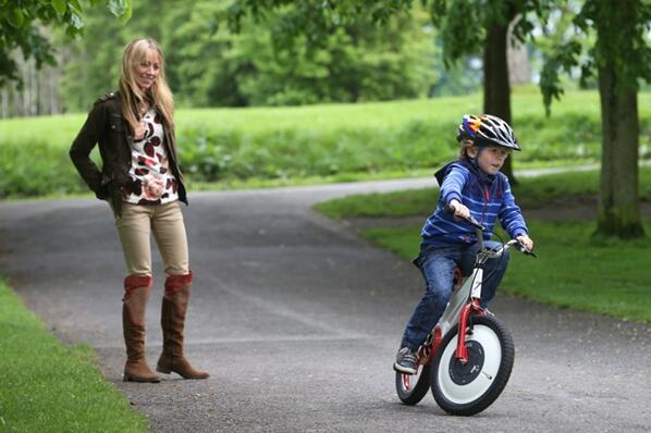 我们可能买了个假自行车 永不倒下!