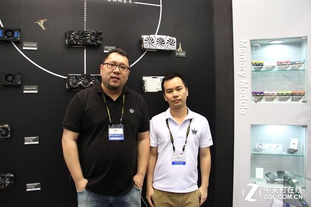 体现产品差异化 COMPUTEX专访影驰蔡伟平