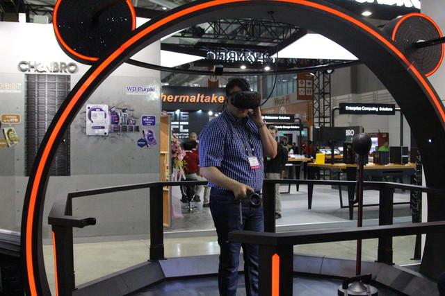 """VR COMING"" 台北展七彩虹又现大招?"