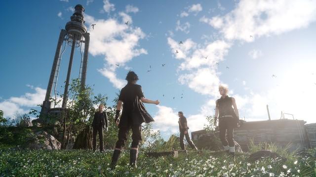 《最终幻想15 VR》与主角一起开party