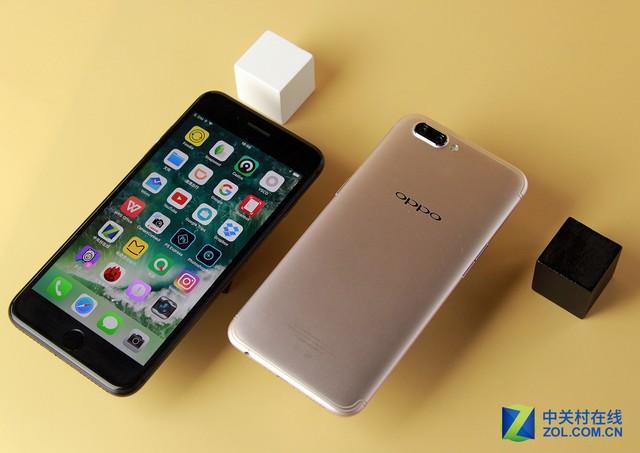 尖Phone对决:OPPO R11对比iPhone 7 Plus