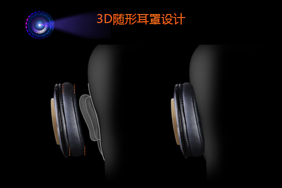 """魔磁双振膜金嗓音耳机 M550开辟音乐新""""声"""""""