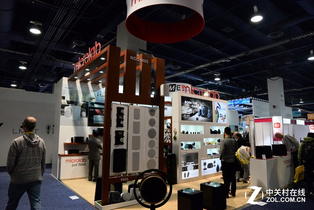 蓝牙产品成主流 CES2017麦博展厅一览