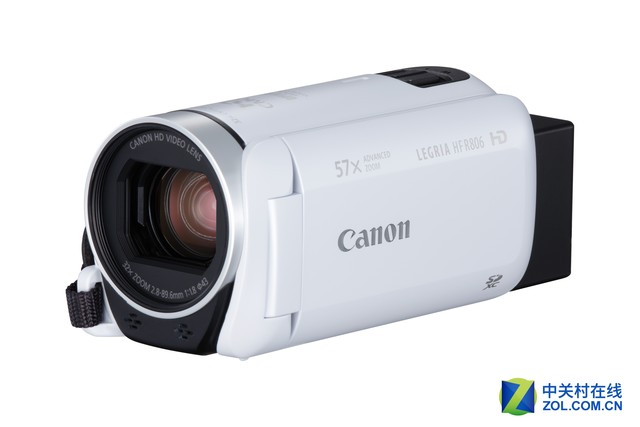 佳能发布LEGRIA HF R86/R806家用摄像机