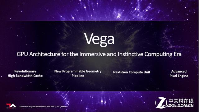 CES上放大招 AMD全新VEGA显卡细节解析