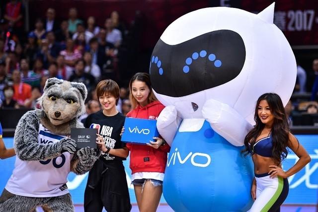 vivo X20全面屏手机闪耀NBA中国赛