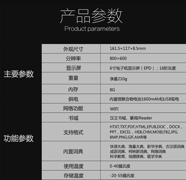 """集成iReader 汉王6寸电纸书""""阅+""""发布"""