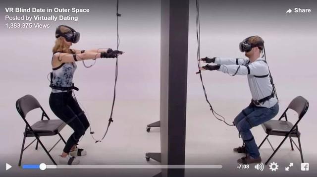 Facebook联手娱乐公司打造VR约会真人秀