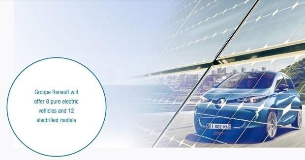 8款纯电动车型 雷诺发布2022年前计划