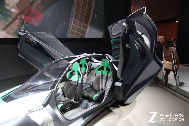 2017 CES 日产发布电动超跑BladeGlider