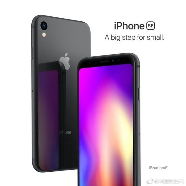 全面屏iPhone SE再曝多图 明年有望上市