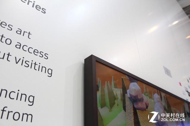 当科技遇到艺术!三星画壁电视IFA现场评测