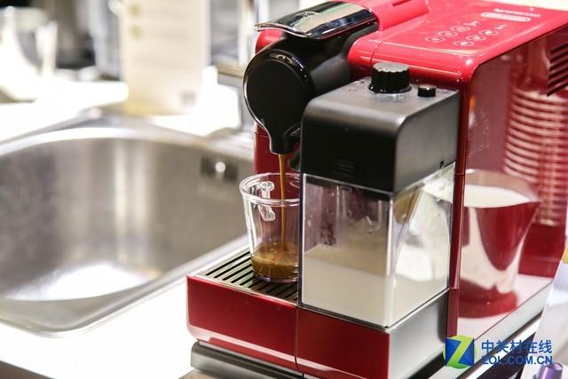 办公室的福利 奈斯派索胶囊咖啡机现身IFA