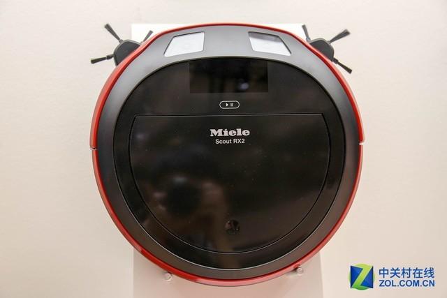 IFA2017:美诺扫地机器人新品搭载双置顶摄像头