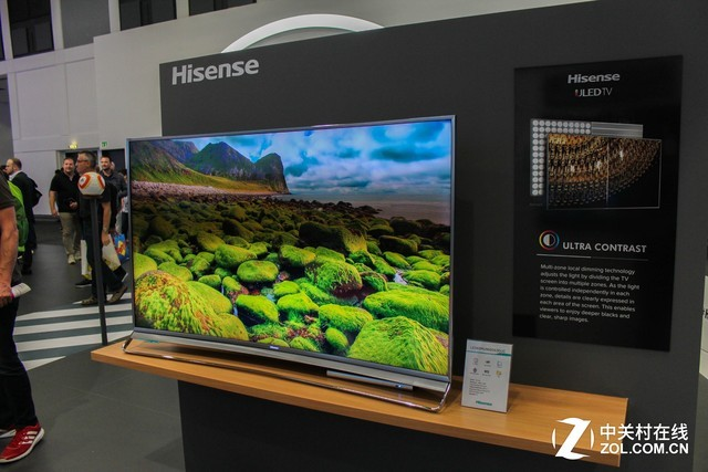 技术驱动焦点 海信丰富电视产品IFA展抢镜