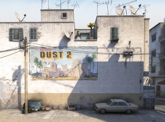 CS:GO经典地图Dust2重做 下个测试见