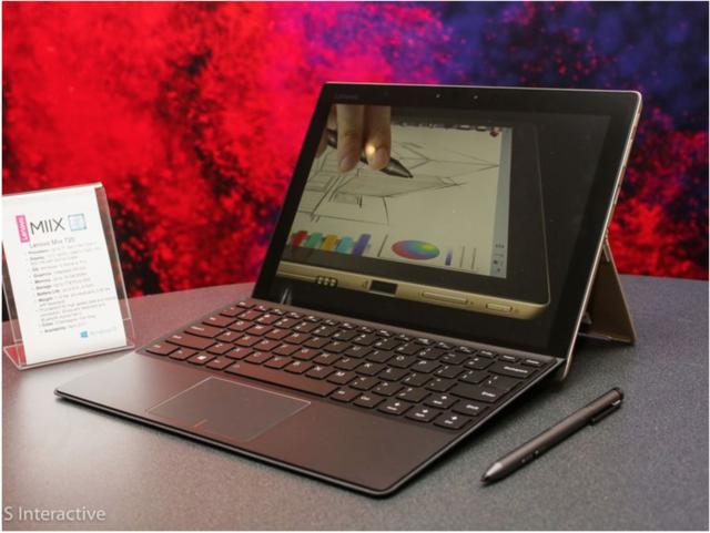 Surface Pro挑战者:联想Miix 720抢先看